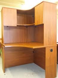 home office desk hutch. Best Corner Desk With Hutch For Home Office: Office Furniture Sets By