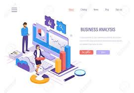 Business Analysis Data Analytics Of Graphs And Charts Marketing