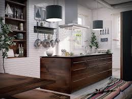 Industrial Kitchen Floor Kitchen Brown Patterned Wood Floor Industrial Kitchen Chrome