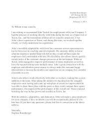 Letter Of Recommendation Supervisor Letter Recommendation Plant Manager