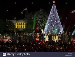 President Barack Obama And Several Musical Performers At The