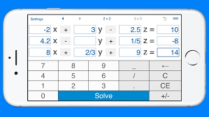 linear equations solver and calculator