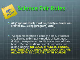 Graph Chart For Science Project Science Fair Information Night Ppt Download