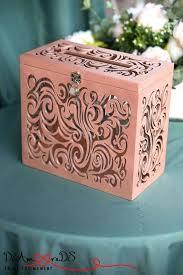 wedding card holders with lock money box slot rose gold and wedding card box lock