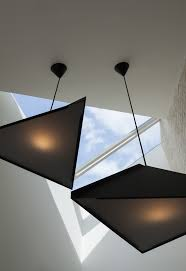 cool lighting design. fine cool tigg coll architects butterfly loft apartment zero pendants echoing the  shape of rooflight over  cool lightinglighting designlight  in lighting design l