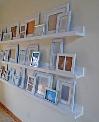 And then just started arranging frames. What do you think of my $30 gallery  wall? Needs photos, eh? Yeah, that's the next step. And the hardest step!