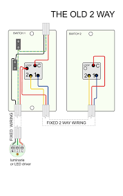 how to wire a two way switch diagram wiring library Wiring 2 Switches One Light To at Wiring Diagram 2 Lights 1 Switch