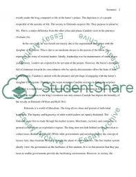 candide el dorado sequence essay example topics and well written candide el dorado sequence essay example