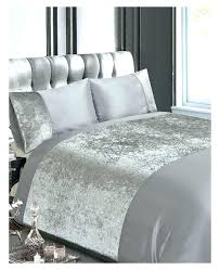 velvet duvets crushed silver double duvet cover set bed linen luxury queen image result for v printing velvet quilt cover