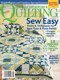 American Patchwork & Quilting Magazine Media Kit Info & American Patchwork & Quilting Magazine Adamdwight.com