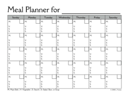 monthly meal planner template menu planner this is exactly what i needed and was looking for i