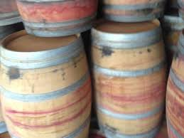 oak barrels stacked top. Picture Of Stacked Reclaimed Wine Barrels. Material Resourcers Repurposes Materials From Industrial \u0026 Manufacturing Companies Oak Barrels Top