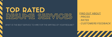 Top Rated Resume Writing Services Prices And Reviews 2019
