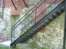 Outside Metal Staircase cute