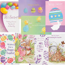Spring Photo Cards 24 Pack Happy Easter Greeting Cards Assorted Spring Note