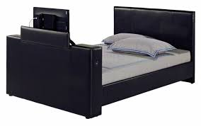 cherbourg black faux leather king size tv bed 17ld211 5245 1 p jpg