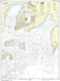 How To Read Navigation Charts Noaa Nautical Chart 16551 Unga Island To Pavlof Bay Alaska Pen