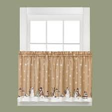 Holiday Kitchen Curtains