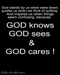 Image result for i need to know God cares pictures