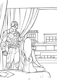 Kids N Fun Coloring Page Captain America Civil War Captain America