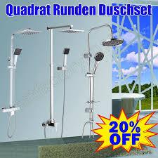 Details Zu Duschsystem Mit Duscharmatur Duschset Duschkopf Handbrause Mitohne Thermostat