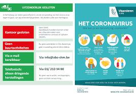 ABC Antwerpen > Nieuws > Maatregelen tegen coronavirus