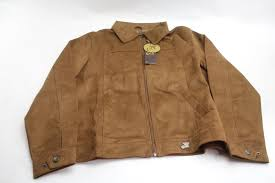 armani collezioni leather jacket brown