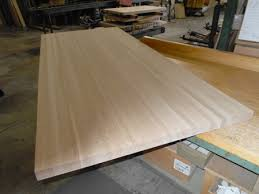 white oak butcher block countertop