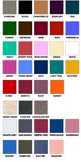 Colour Chart Size And Color Chart Movement Global