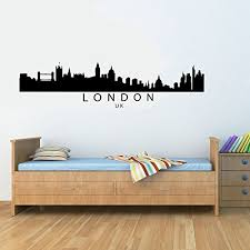 amazon london uk city skyline vinyl wall decals quotes sayings words art decor lettering vinyl wall art inspirational uplifting baby on vinyl wall art uk with amazon london uk city skyline vinyl wall decals quotes sayings