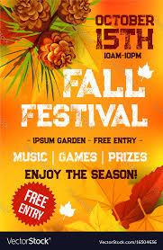 Fall Harvest Festival Autumn Party Banner Design
