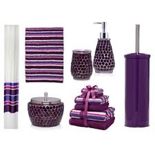 Accessories For The Bathroom Let Purple Bathroom Accessories Glorify Your Bathroom Bath Decors