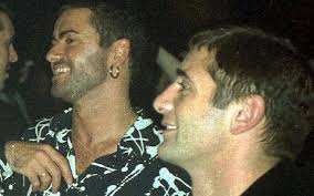 george michael and anselmo feleppa.  George George Michael With Anselmo Feleppa On And A