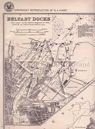 Ni Chart Us Navy Chart Belfast Lough Belfast Docks Much Like The