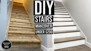 There is no shortage of stairway design ideas to make your stairway a charming part of your home. Diy Stairs Makeover For Under 200 With Full Cost Breakdown Youtube