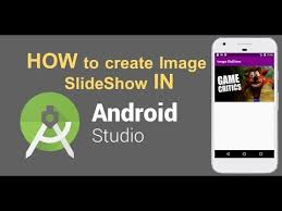creating a slideshow in android studio