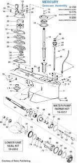 similiar 1976 mercury outboard lower unit diagram keywords 1976 mercury outboard lower unit mercury lower unit diagram