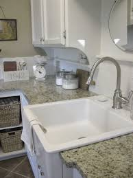 kitchen sinks farmhouse white drop in sink single bowl square