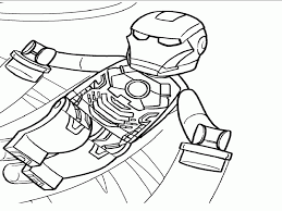 Lego Superheroes Coloring Pages Iron Man | Best Coloring Page Site ...