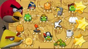 Angry Birds Season The Pig Days Part #1 Levels 1 to 15 - YouTube | Angry  birds, Halloween, Painting