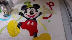 Embroidery Mickey Mouse Design Machine Embroidery Design Mickey Mouse