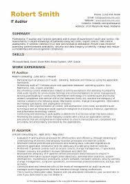 Sample Auditor Resumes It Auditor Resume Samples Qwikresume