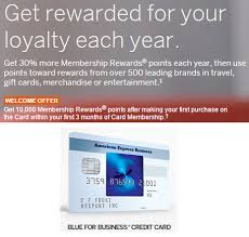 American Express Blue For Business Review 13x On All Purchases