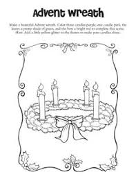 Small Picture Advent Candles Coloring Page Worksheets