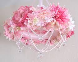 baby girl room chandelier. Baby Mobile Flower Crib Floral Chandelier Shabby Chic Pink Girl Nursery Decor Pearls. Room N