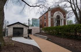 the missouri botanical garden will reopen henry shaw s original museum which contained the garden s first library and herbarium on sunday