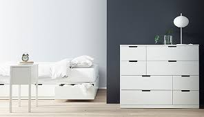 ikea bedroom furniture dressers. NORDLI Is White, Modern, Scandinavian Style Bedroom Furniture That\u0027s All About Flexibility And Smart Ikea Dressers T