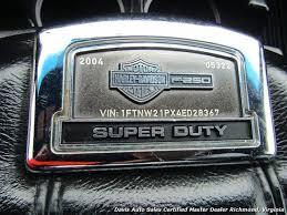 2004 Ford F-250 Super Duty Harley Davidson Lariat 4X4 Crew Cab SB