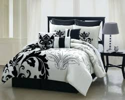 black and white bedding sets s striped comforter queen silver double bed sheets