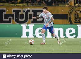 14.09.2021, Bern, Wankdorf, CL: BSC Young Boys - Manchester United, # 2  Victor Lindeloef (Manchester United) (Foto: Manuel Winterberger/Just  Picors/Sipa USA Stockfotografie - Alamy